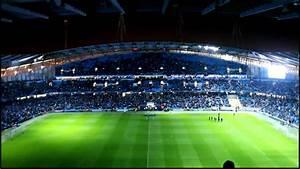 City Of Manchester Stadium - Lights On