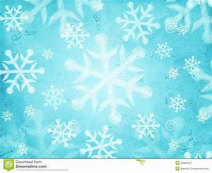 Abstract Light Blue Background With Snowflakes Stock Photo ...