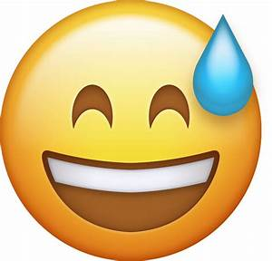 Emoji Sweating Face Pictures to Pin on Pinterest - PinsDaddy
