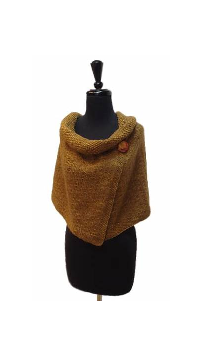 Tweed Wrap Cashmere Tricoter Seattle