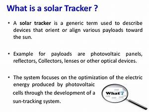automatic sun tracking system With automatic tracking system
