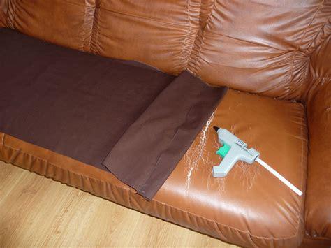 réparer canapé cuir comment reparer un canape