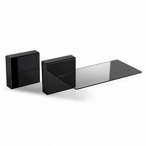 Etagere Cube Noir : meliconi ghost cube shelf noir meuble tv meliconi sur ~ Teatrodelosmanantiales.com Idées de Décoration
