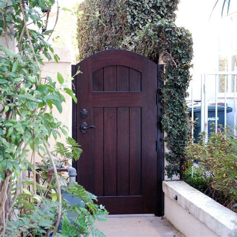 european style gates handcrafted in solid wood