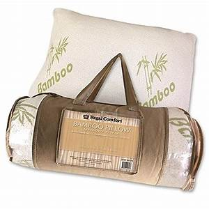 order regal comfort bamboo memory foam bed pillow queen With bamboo pillow price