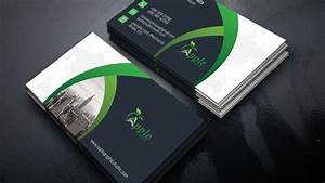 professional business card design photoshop tutorial youtube With business business cards