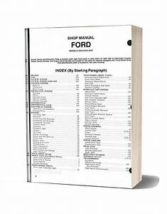 Ford 2810 2910 3910 Shop Manual