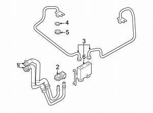 Ford Edge Automatic Transmission Oil Cooler Tube  Liter