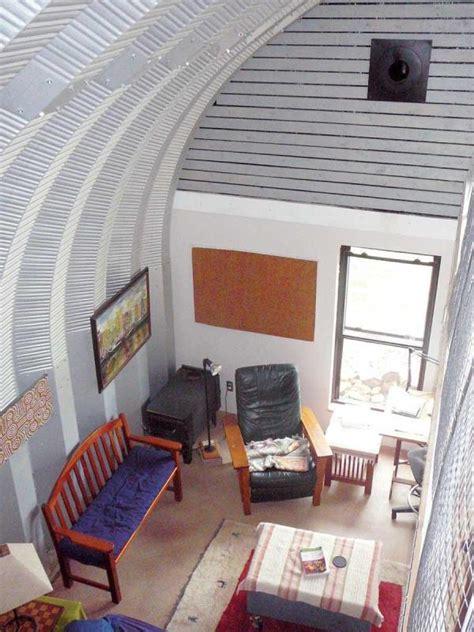 built  quonset hut home