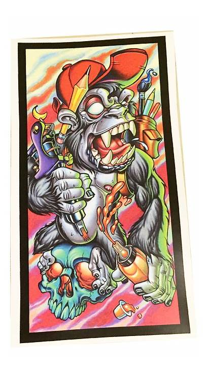 Gorilla Artist Tony Ciavarro Monkey Stinky