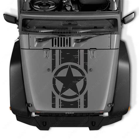 foto de Stickers Capot Jeep Autocollant kit 4x4 Jeep Deco