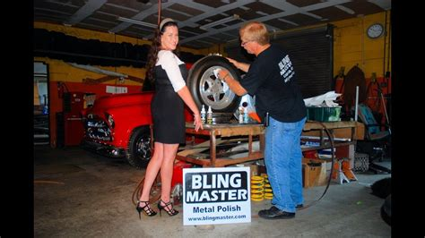 polish aluminum wheels    chrome car