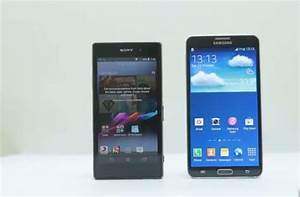 Sony Xperia Z1 vs LG G2 vs Galaxy Note 3 - PhonesReviews ...