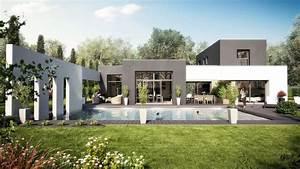 ophreycom maison cube moderne constructeur With photo maison cube moderne