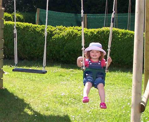 Play Swing by Toddler Swing Seat For Your Swing Set Wooden Garden Play
