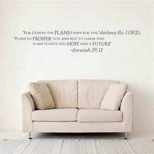 jeremiah 2911 wall quote decal wallums wall decals With wallums wall decals