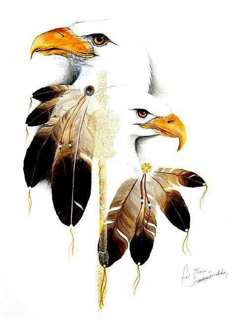 native american art  love eagles   bald