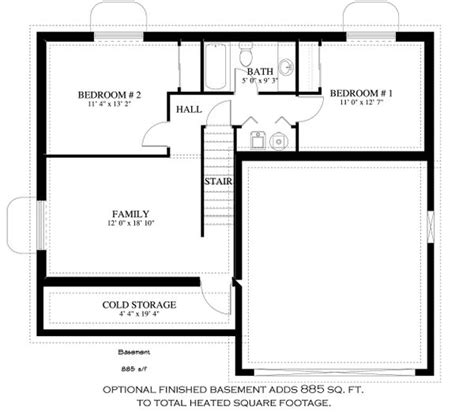 traditional style house plan  beds  baths  sqft plan   homeplanscom