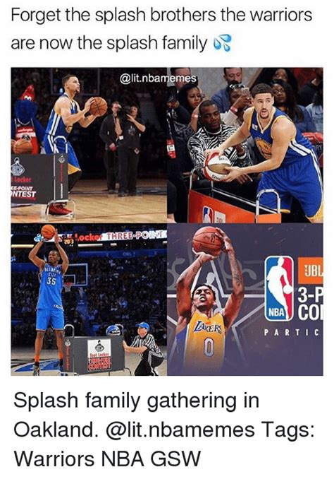 Forget The Splash Brothers The Warriors Are Now The Splash Family Epoint Ntest Ker Three Pon 20