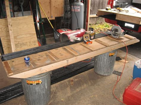 wood sled deck plans loading sled in truck page 4 hcs snowmobile forums
