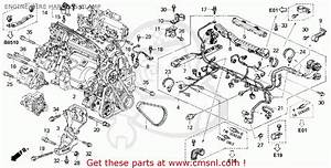 Honda Accord 1994  R  2dr Dx Abs  Ka  Engine Wire Harness