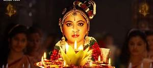 Anushka Shetty First Look released from Om Namo ...
