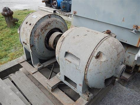 Electric Motor And Generator by 30 Kw General Electric Ac To Dc Motor Generator 250 Volts