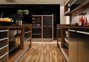 kitchen wooden furniture glossy lacquer with wood kitchen design vitrea from braal digsdigs