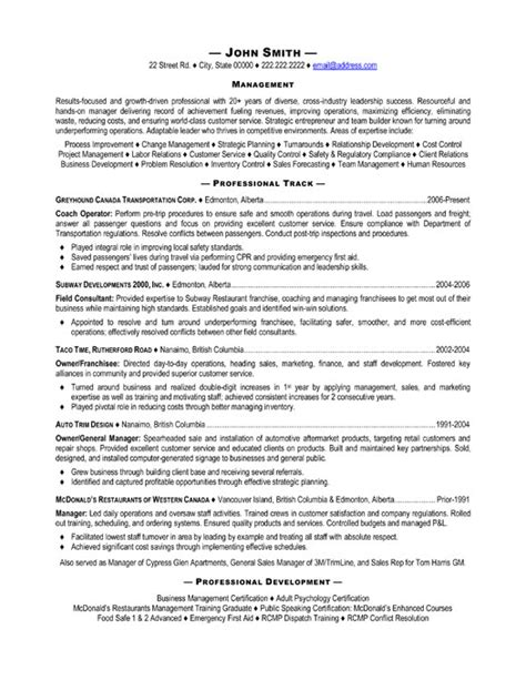 top transportation resume templates sles