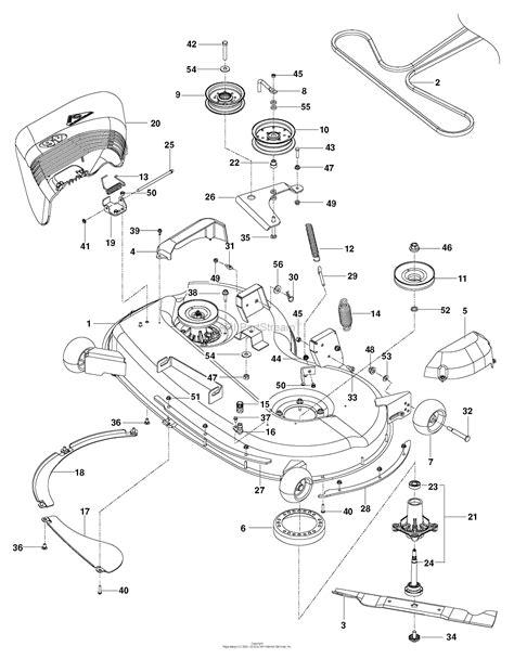 Deck Part Diagram by Husqvarna Z 246 967323902 2015 01 Parts Diagram For
