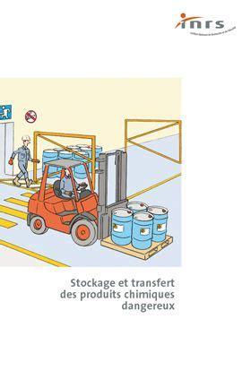 stockage et transfert des produits chimiques dangereux brochure inrs