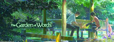 garden of words the garden of words sentai filmworks