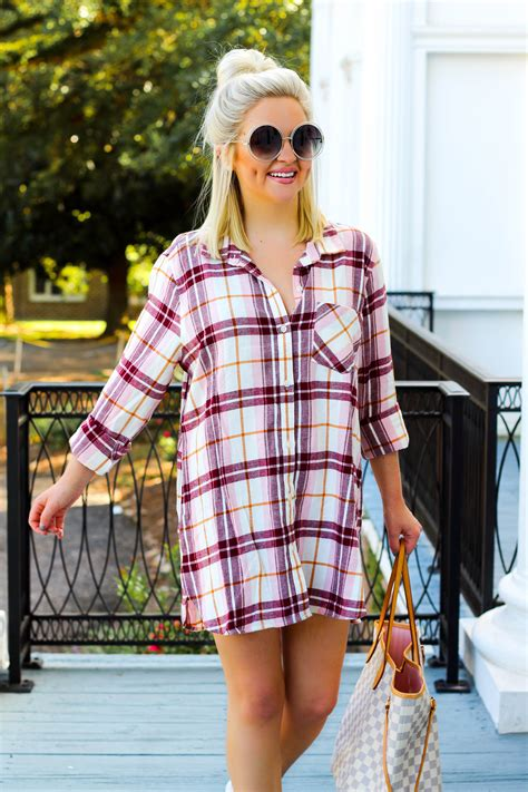 Pink Plaid Dress + 15 FAQ - Sassy Southern Blonde