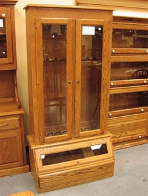 Build Your Own Gun Cabinet Woodworking Projects Plans