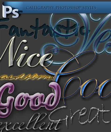 calligraphy fonts    photoshop