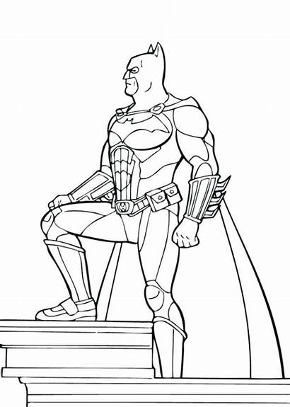 Justice League Coloring Pages Printable Dc Getcolorings
