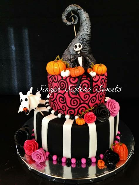nightmare before zero decorations quot nightmare before quot cake with zero and