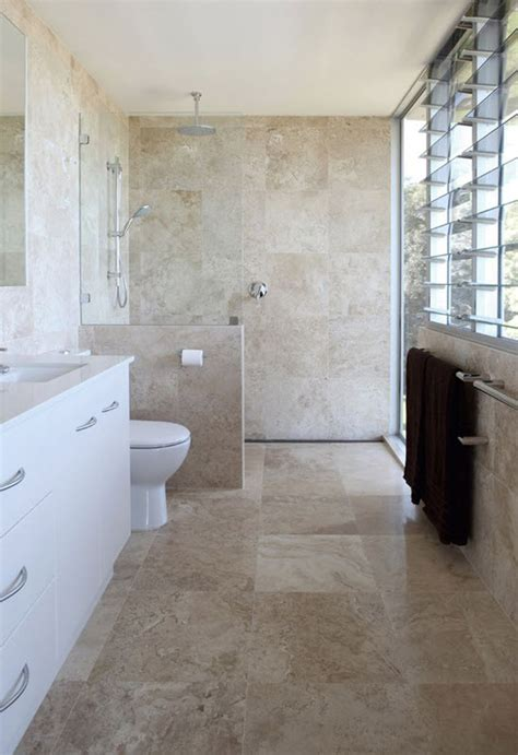Badezimmer Fliesen Ideen Braun by 40 Beige And Brown Bathroom Tiles Ideas And Pictures