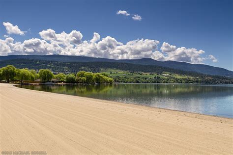 Kal Lake Beach In Vernon • Michael