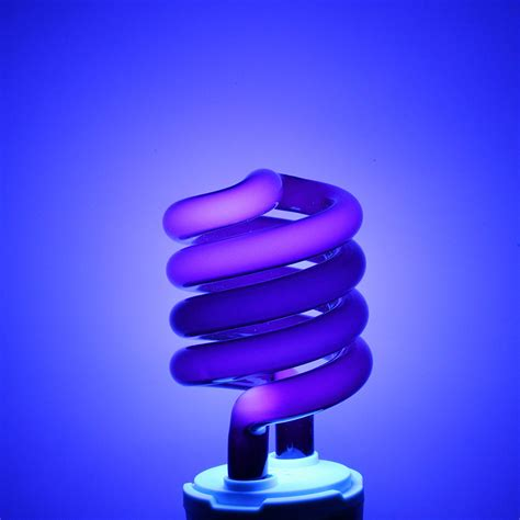 uv black light uv ultraviolet spiral low energy saving cfl light bulb e27