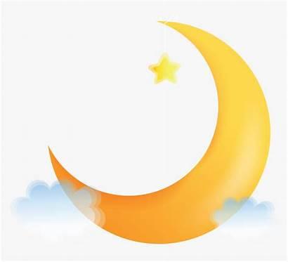 Moon Crescent Cartoon Clipart Transparent Kindpng Views