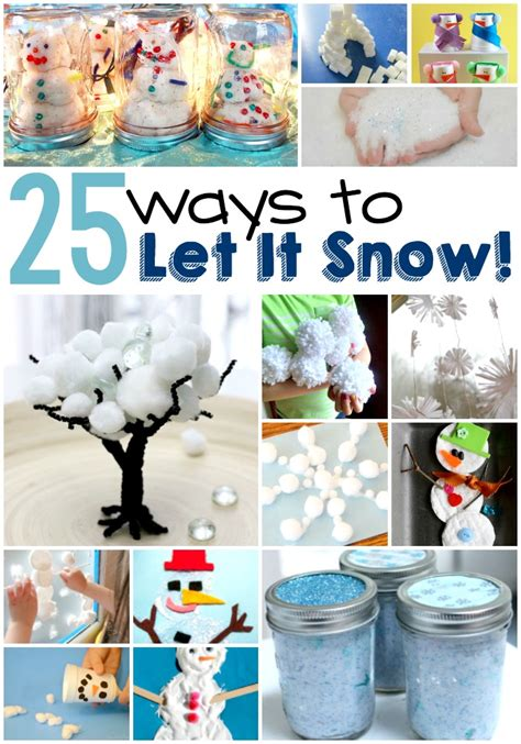 spectacular indoor snow crafts  activities  kids