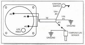 water temperature gauge wiring diagram rotax 582 water With vdo temperature gauge wiring diagram