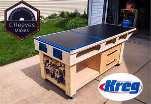 Mobile Outfeed   Assembly Table