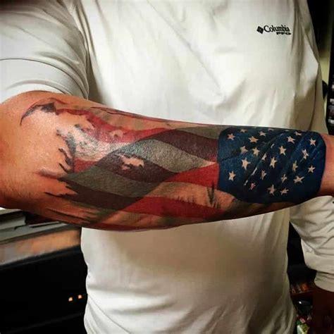 american flag tattoos  men ideas  designs  guys