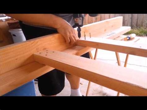 Woody Wednesday My 1st Diy Full Size Bunk Bed Youtube