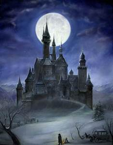 Dracula Painting | Dracula's castle (vanhelsing) by ...
