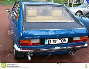 Dacia 2000 back view editorial image. Image of 2000 ...
