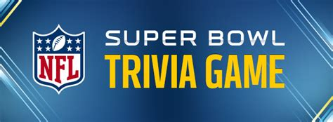 nfl mega fan quiz superbowl trivia nfl com