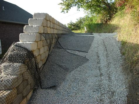 backfilling a retaining wall retaining walls contractors in tulsa joseph enterprise